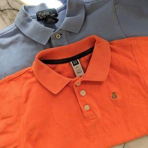 Toddler Polo and Baby Gap SS Polo Shirt Bundle
